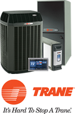 Trane Product and Logo